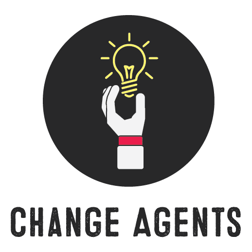 Change Agents Educational Curriculum Workplace Logo Schools